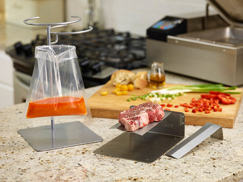 VacMaster 98305 multi ring bag stand for food vacuum packaging