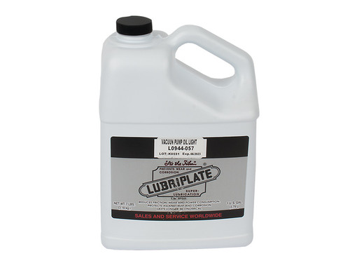 One Gallon of Chamber Vacuum Pump Oil