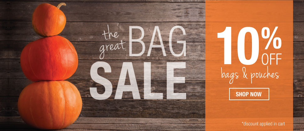 Great Bag Sale - 10% OFF