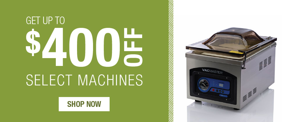 Up to $400 OFF select machines