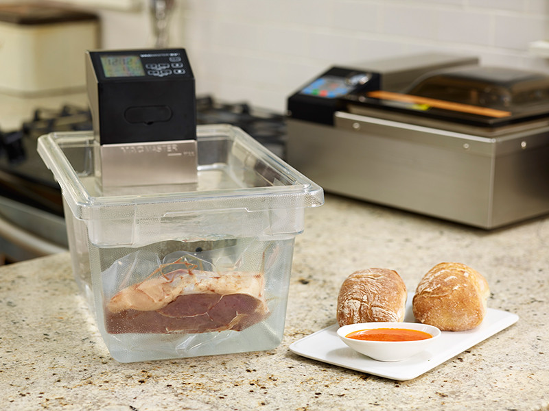 Sv1 sous vide cooking immersion circulator vacmaster - Plat cuisine sous vide ...