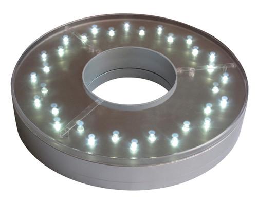E-Maxi 32 White LED 8-Inch Centerpiece Light - Remote Control Capable