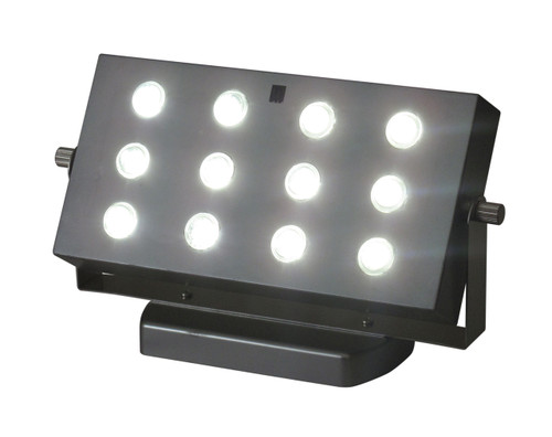 E-Wall Wash, 12 White Bright SMT Lights - Remote Capable