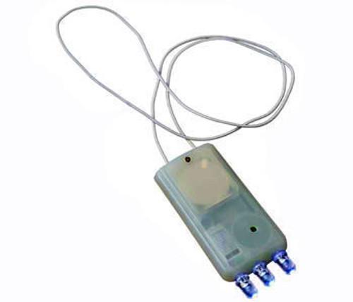 Battery Powered LED Light - Blue