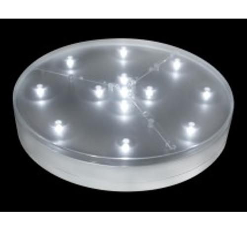E-Luminator Light Base 8-Inch Battery Operated 13 White LED Lights