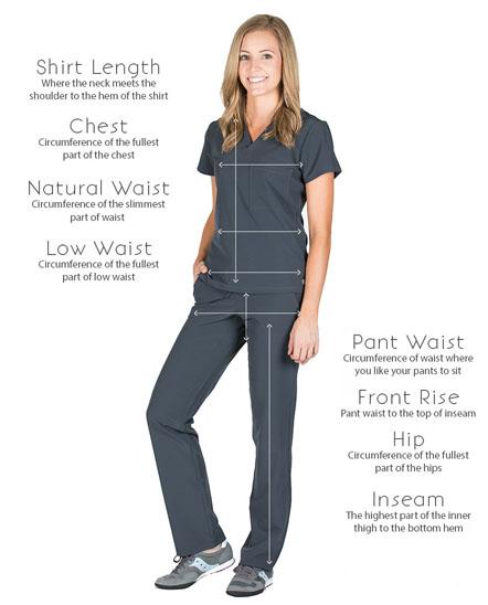 ae8a6c67aaf Linen Uniform Scrub Pants