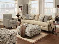 2420 Vivid Khaki Living Room