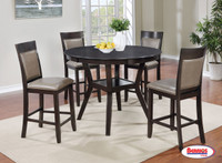 71781 Dark Walnut Pub Table Dining Room