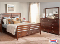6120 Raphael Bedroom | Dark Cherry