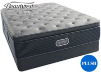 Charcoal Coast Plush Pillow Top Beautyrest Silver