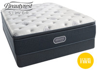 Open Seas Luxury Firm Pillow Top Beautyrest Silver