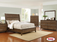 MSGB009 Distressed Brown Urban Bedroom