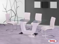 D1272 Vivi White Dining Room