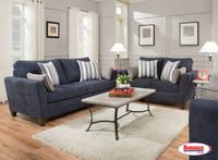 7081 Prelude Navy Living Room