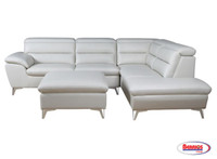 Tanner Ivory Sectional Living Room
