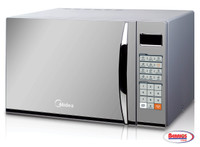 72173 Midea   Microwave 1.1 CFT Silver