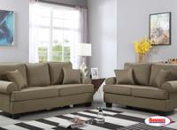 Dark Brown Durban Living Room