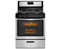 Whirlpool Freestanding Gas Range with Five Burners
