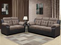 880016 Brown PVC Living Room