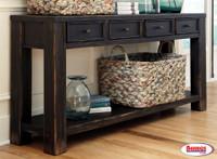62862 Gavelston Sofa   Console Table