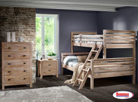 961824 Rustic Drift Bunkbed Twin | Full