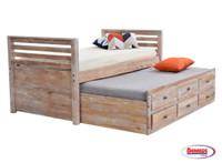 960624 Montauk Captain Bed Twin