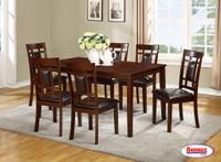 62424 Expresso Dining Room Set