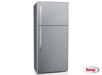 62173 Midea Refrigerator 18.1' - Stainless Steel