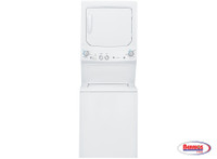 63204 GE Spacemaker Washer and Electric Dryer in White