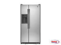 61398 Share GE® ENERGY STAR® 21.8 CU. FT. SIDE-BY-SIDE REFRIGERATOR