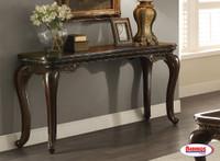 65155 Brown Sofa Table