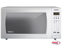 71115 Full-Size 1.6 cu. ft. Countertop Microwave Oven with Inverter Technology, White