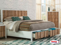 5122 White Natural Bed