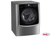 LG 70864 9.0 cu.ft. MEGA Capacity TurboSteam® Electric Dryer w/ On-Door Control Panel