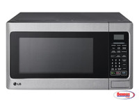 70858 LG 1.1 cu. ft. Countertop Microwave Oven with Energy Savings Key