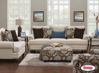 2820 Anna White Linen Living Room