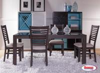 1015 Wasabi Grey Oak Dining Room
