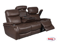 445 Jazz Chocolate Recliner Living Room