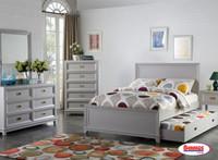 800 Modern Mix Grey Bedroom
