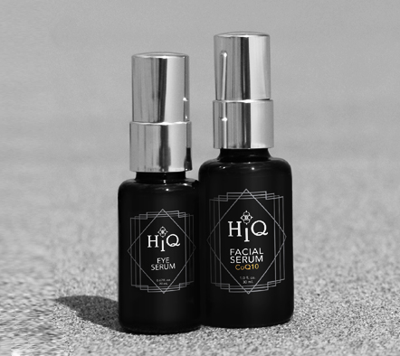 HiQ Eye & Facial Serum Bottles
