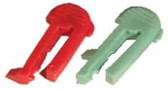 INTERMATIC | PLASTIC TRIPPERS 2 RED ON & 2 GREEN OFF | 156PB10398A