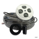 JANDY | AQUALINK REMOTE SWITCH 100' WHITE | 1 Inch to 1-1/2 Inch, 4 Function SpaLink Remote for Zodiac RS Control System, 100 Feet | 7441