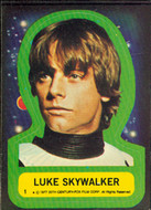 1977 Topps Star Wars Series 1 Sticker Set (11)