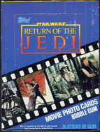 1983 Topps Return of the Jedi Series 1 Unopened Box