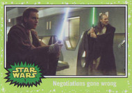 2015 Topps Star Wars Journey to The Force Awakens Green Parallel Set (110)