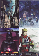 2015 Topps Star Wars Illustrated: Empire Strikes Back Set + 3 Chase Sets (138)