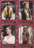 2012 Topps Star Wars Galactic Files Series 1 Set + 2 Chase Sets (368)