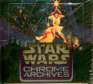 1999 Topps Star Wars Chrome Archives Unopened Box