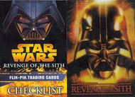 2005 Topps Star Wars Revenge of the Sith UK Flix Pix Set (68)