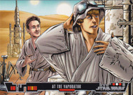 2013 Topps Star Wars Illustrated: A New Hope Set + Poster Set (109)